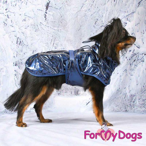 raincoat in dark blue dv-003