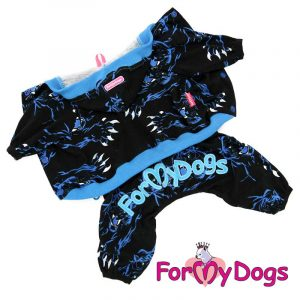 suit for dogs in dark blue kc-006