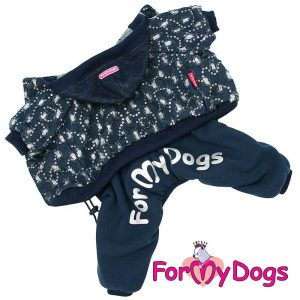 suit for dogs in blue kc-016