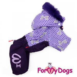 female overall for dogs in blue km-001f