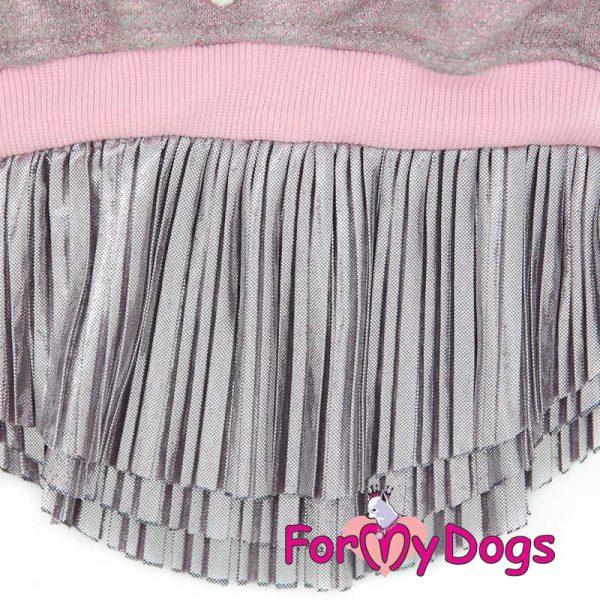 female dress with wavy skirt pl-003f